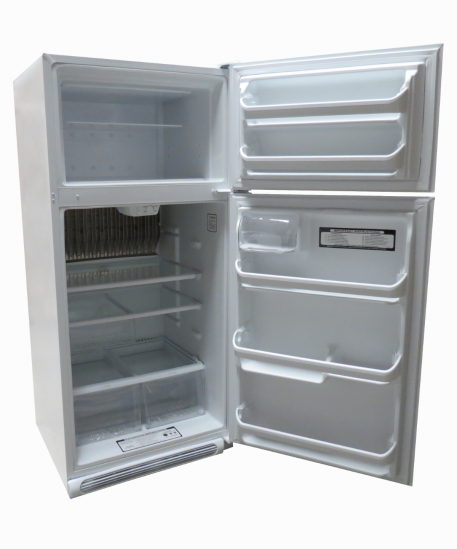 Interior of 19 cubic foot propane refrigerator EZ Freeze