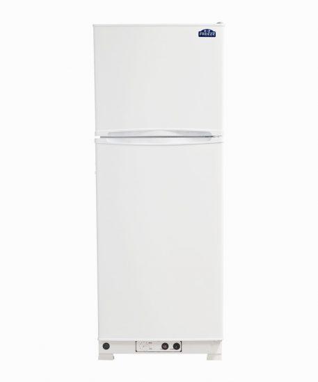 10 cu. ft. Propane Powered Refrigerator Freezer in White Closed