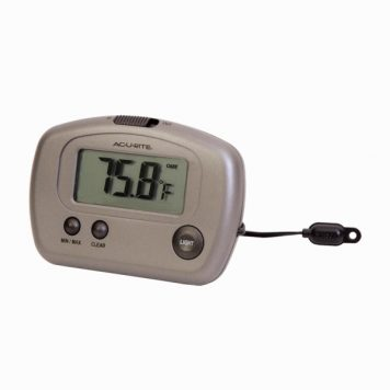 digital thermometer for fridges with 10 foot wire and LCD display