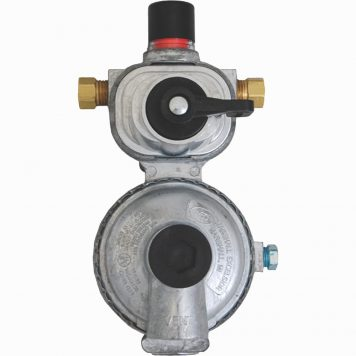 dual propane tank regulator