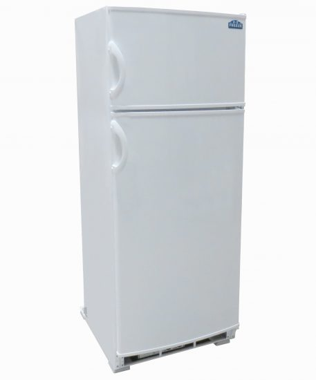 10 cu. ft. Propane Powered Refrigerator Freezer in White Closed