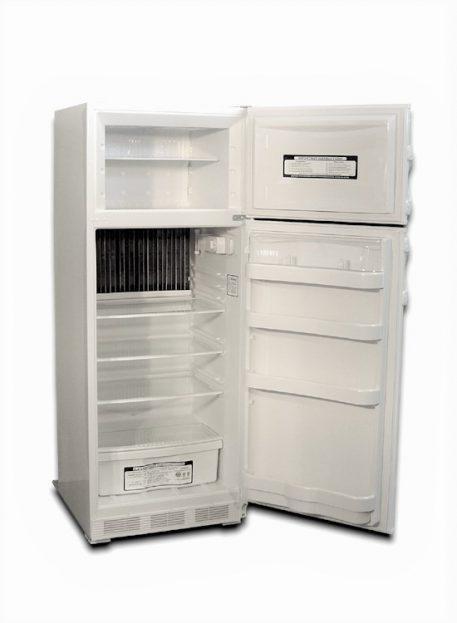 10 cu. ft. storage spave inside the EZ-10 gas fridge