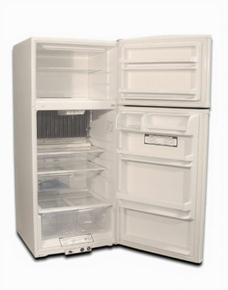 15 Cubic Foot of storage inside the gas fridge and freezer