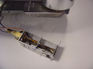 EZ freeze burner assembly is easily removed for maintenance