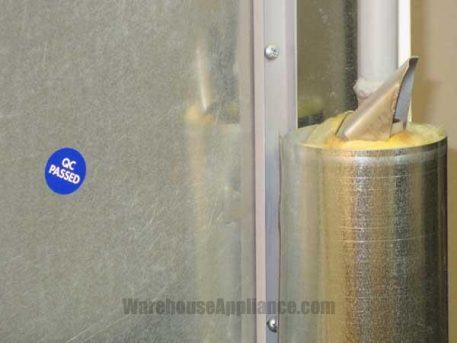 EZ Freeze gas refrigerator flue exhaust