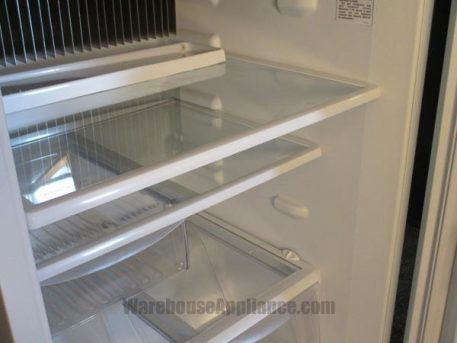 Glass shelving and deli drawer
