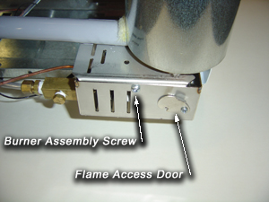 EZ Freeze natural gas burner assembly