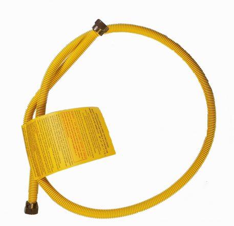 flex line propane hook up yellow