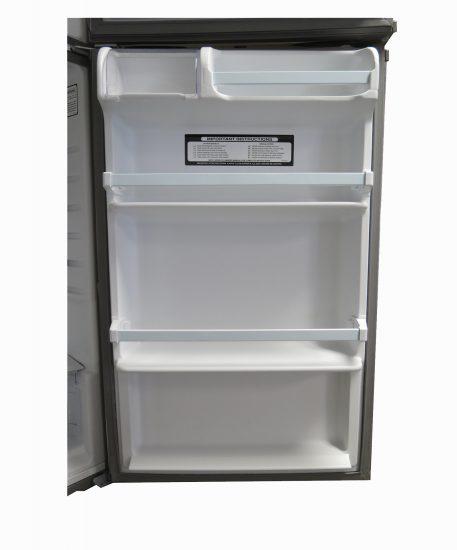 15 Cubic EZ Freeze Stainless Steel Fridge Door Interior Shelves