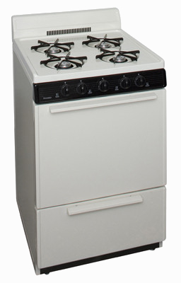 bisque 4 burner range