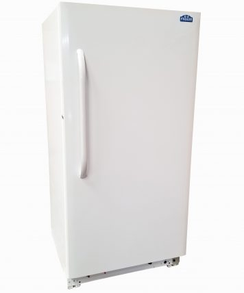 15 Cubic Foot White Natural Gas Freezer by EZ Freeze Blizzard