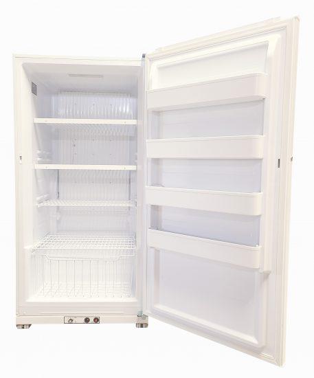 18 Cubic Foot Freezer Interior
