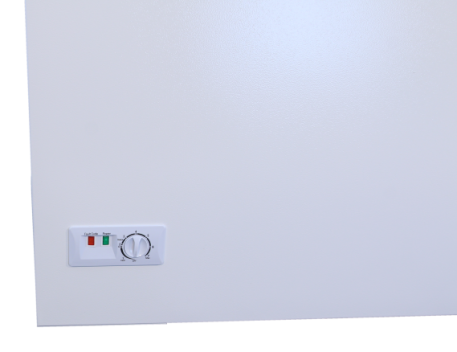 thermostat control for freezer or refrigerator