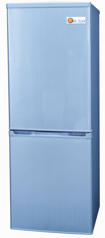 Sunstar Fridge Freezer Neutral Gray Solar