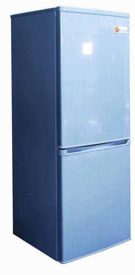 Left side of Sun Star solar fridge