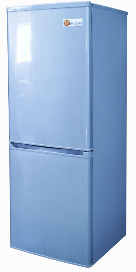 Right side of Sun Star solar fridge