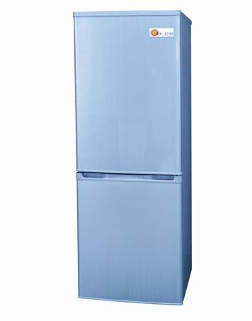 sunstar 6 cubic foot white fridge top freezer bottom