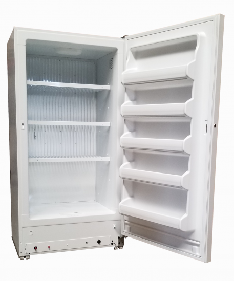Interior view of 18 Cubic Foot Natural Gas Freezer