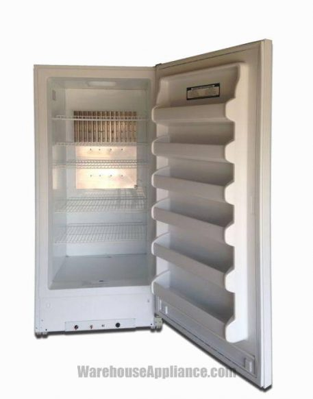 Bulk food storage insdie the natural gas powered total refrigerator