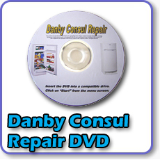 Need repair for your Danby or Consul gas fridge? Warehouse Appliance brings you this repair and maintenance dvd for your gas refrigerator or gas freezer.