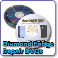 Need repair for your Diamond gas fridge? Warehouse Appliance brings you this repair and maintenance dvd for your gas refrigerator or gas freezer.