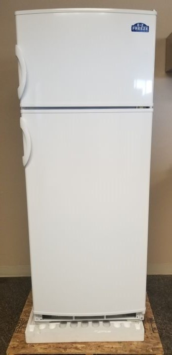 exterior 10 cubic foot propane refrigerator